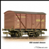 FARISH 373-728 BR 10T Insulated Ale Van BR Bauxite (Early) - Weathered * PRE ORDER £ 17.96 *